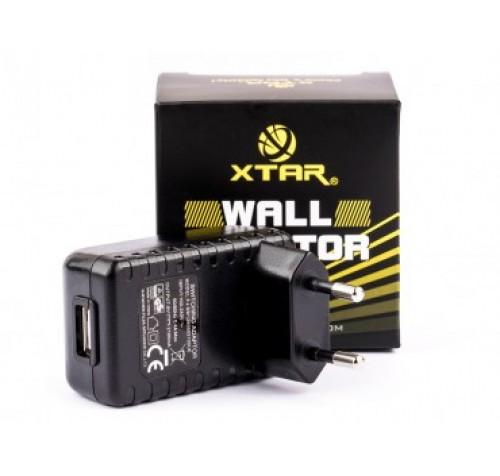 XTAR Φορτιστής USB 230V  5V 2100mA Universal AC USB