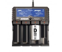 XTAR VP4 Plus Dragon Φορτιστής για επαναφορτιζόμενες μπαταρίες