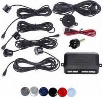 Σύστημα παρκαρίσματος με 4 αισθητήρες και ηχητική ειδοποίηση - Μαύρο