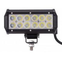 Προβολέας LED αδιάβροχος 36W 30°δουλεύει από 9V έως καί 32V για βάρκες τρακτέρ φορτηγά αυτοκίνητα