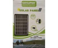 Ηλιακό πάνελ φορτιστής  8W φορτίζει συσκευή ακόμα και με χαμηλή ηλιοφάνεια.***