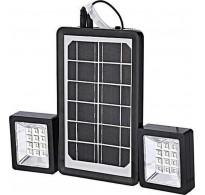 Ηλιακό Πάνελ Φωτισμού με 2 Προβολείς LED και Power Bank 6V 3W - Andowl QY-05