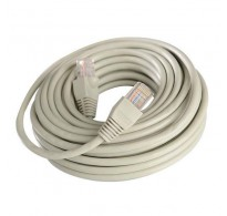 ΚΑΛΩΔΙΟ 1m ΓΚΡΙ PATCH CORD UTP CAT-5e 26AWG