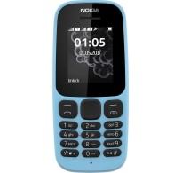 Nokia 105 2017 Dual Sim Blue Ελληνικό μενού GR