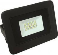 Προβολέας αλουμινίου μαύρος με LED SMD 10W 220-240V Basic 6500K λευκό ψυχρό φως στεγανός IP65