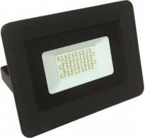 Προβολέας αλουμινίου μαύρος με LED SMD 20W 220-240V Basic 6500K λευκό ψυχρό φως στεγανός IP65