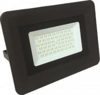 Προβολέας αλουμινίου μαύρος με LED SMD 50W 220-240V Basic 6500K λευκό ψυχρό φως στεγανός IP65