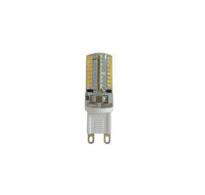 ΛΑΜΠΑ LED Eurolamp SMD G9 3W 3000K Θερμό ΣΙΛΙΚΟΝΗΣ 240V 147-84637