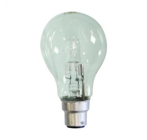 Eurolamp 147-88260 Λάμπα Αλογόνου ECO 30% Κοινή 42W Β22 ΜΠΑΓΙΟΝΕΤ