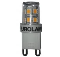 Λάμπα led G9 2.5W 230V 2700k θερμό φως