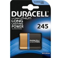 2CR5 Λιθίου 6V Duracell Ultra DL 245A