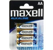 Maxell Alkaline AA LR6 (4τμχ)