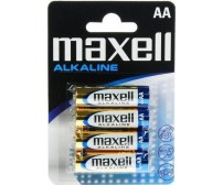 Maxell Alkaline AA (4τμχ)