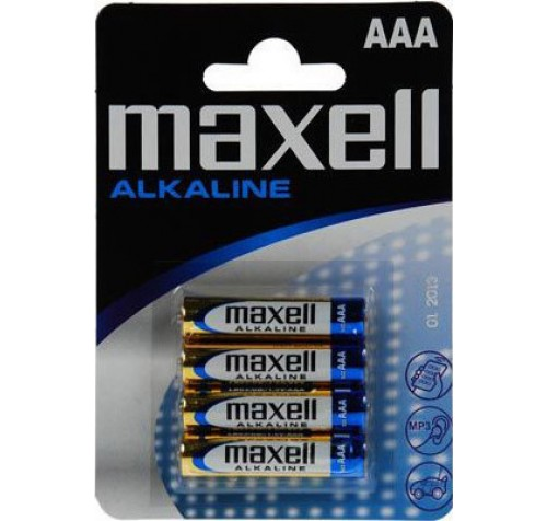 Maxell Alkaline ΑAA (4τμχ)