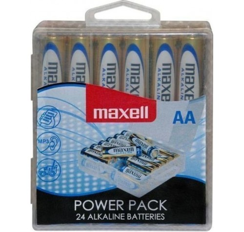 Maxell Alkaline AA LR6 (24τμχ)