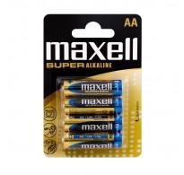 Maxell LR6 AA Super Alkaline Blister 4 ΤΕΜ