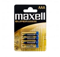 Maxell LR03 AAA Super Alkaline Blister 4 ΤΕΜ