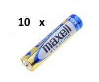 Maxell Alkaline AAA (10τμχ)