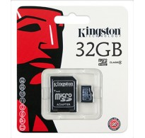 Kingston MicroSDHC 32GB Class 4 +SD Adapter SDC4/32GB