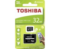 Micro SD Toshiba M203 32 GB Class10 U1 με αντάπτορα SD