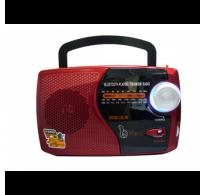 Ραδιόφωνο επαναφορτιζόμενο με υποδοχή για usb stick +sd card - FM Radio - Bluetooth M-U73BT