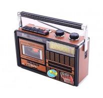 ΡΑΔΙΟΚΑΣΕΤΟΦΩΝΟ + USB + SD Card + FM Radio Εγγραφή από ραδιόφωνο και Usb στην κασέτα