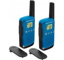 Motorola Talkabout T42 Twin Pack Μπλε 4 Κm