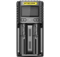 NiteCore UMS2 Φορτιστής 2 Θέσεων