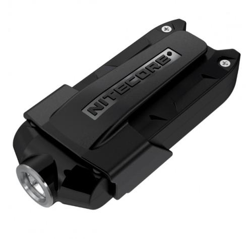 NITECORE TIP 2017 Φακός LED Μπρελόκ Επαναφορτιζόμενος 360 Lumens Μαύρος