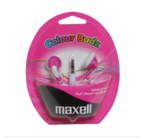 Ακουστικά Maxell ροζ. CB-PI