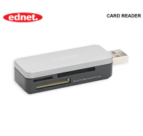 EDNET CARD READER USB 2.0 ALL IN ONE 85230