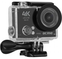 Action Camera Acme VR06 Ultra HD 4K + 2 Μπαταρίες + Φορτιστή + Δώρο Micro sd 8gb Class10