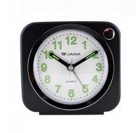 Ρολόι Επιτραπέζιο Ξυπνητήρι Jaga A602 Μαύρο.