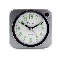 Ρολόι Επιτραπέζιο Ξυπνητήρι Jaga A602 Γκρι.