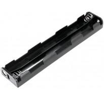 Θήκη μπαταρίας AA R6 x 6 για 9v έξοδο
